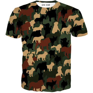 Dog O Flage T-Shirt