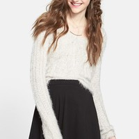Lily White Skater Skirt (Juniors)