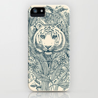 Tiger Tangle iPhone & iPod Case by micklyn