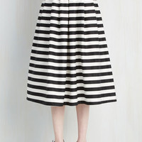 Nautical Long Full Chic-ing of Which Skirt