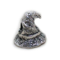 """Witch Magic Hat"" Harry Potter Bead Sterling Charm Fits Pandora & Similar Bracelets"