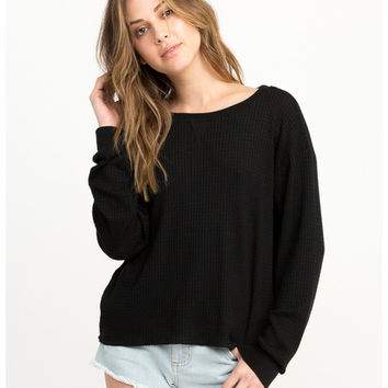 Cited Long Sleeve Thermal Top | RVCA