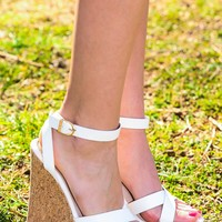 Truly Original Wedge-White