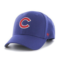 MLB Chicago Cubs Juke MVP Adjustable Hat, One Size, Royal