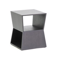 Trapezoid End Table