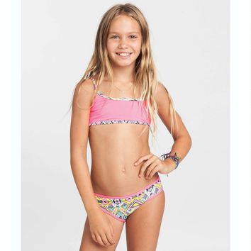 Billabong Girls' Wild Waves Surf Set