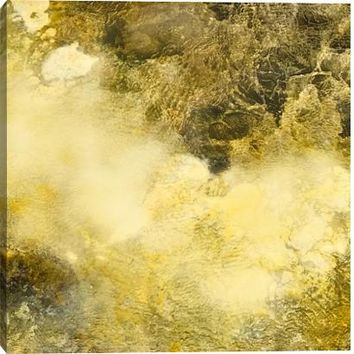 Gold Rush III Canvas Wall Art Print by K. Conner