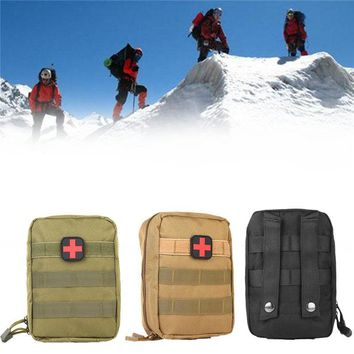 Tactical Medical First Aid Kit Bag Molle Medical Utility Pouch
