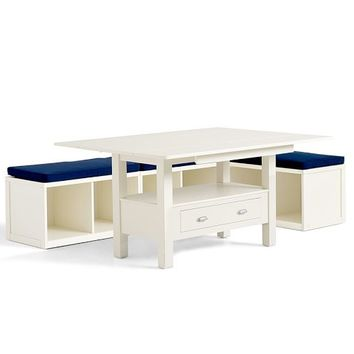 ryland drop leaf table modular from pottery barn
