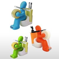 Butt Station Available in Blue, Green and Orange Color