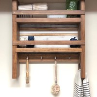 The Virginia Kitchen Shelf - Kitchen Shelves and Wall Mount Spice Rack