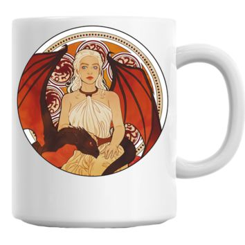 Khaleesi and Her Dragon (Game of Thrones) Mug