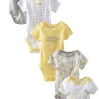 Calvin Klein Baby-Girls Newborn 5 Pack Bodysuit