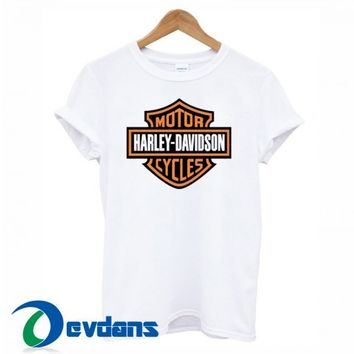 Harley Davidson T Shirt For Women And Men Size S To 3XL