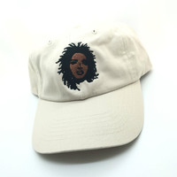 Tan Lauryn Hill Dad Cap Hip Hop Rap Rare Dope 90s Vtg