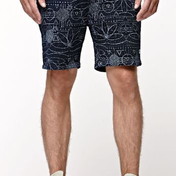 The Hundreds Galleria Shorts - Mens Shorts - Blue