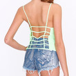 Candy Love Cami Crop Top Neon Lime