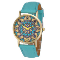 Flower Power Boho Gypsy Style Watch