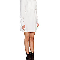 Fendi - Belted Detail Silk Shirtdress - Saks Fifth Avenue Mobile