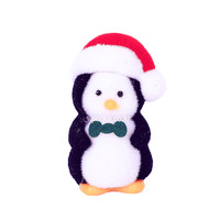 Fluffy Christmas Penguin