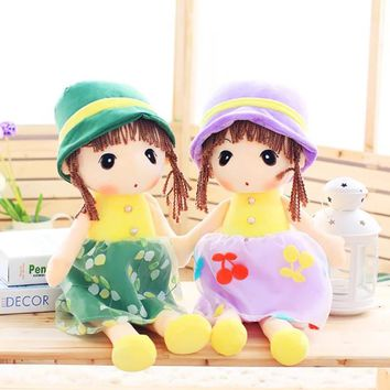 55cm / 40cm Plush Cute Cartoon Flower Fairy Doll Children's Toys Send Girls The Best Birthday Christmas Gifts Toys For Girls