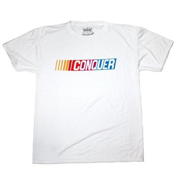 Creative King - Conquer Tee - White