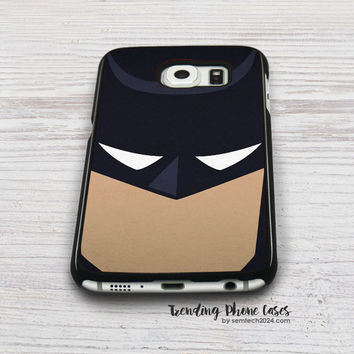 Batman Face  Samsung Galaxy S6 Case Cover for S6 Edge S5 S4 Case