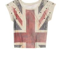 Union Jack Sublimated Bling Short-Sleeve