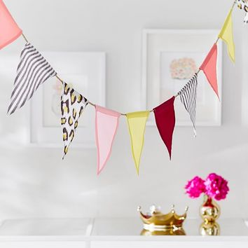 The Emily & Meritt Bunting Garland
