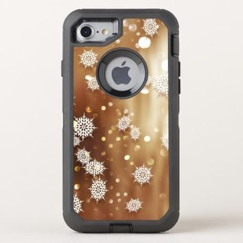 Beautiful Snowflakes OtterBox Defender iPhone 8/7 Case