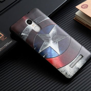 Xiaomi Redmi Note 3 Case Cover 3D Stereo Relief Painting Mobile Phone Silicon Back Covers Redmi Note3 Protector Cases Funda Capa