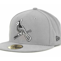 St. Louis Cardinals MLB Gray BW 59FIFTY