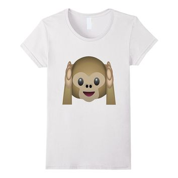 Emoji Shirt - Funny Monkey - For Men- Women And Kids