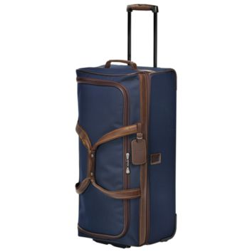 Travel bag with wheels - Boxford - Luggage - Longchamp - Blue - Longchamp United-States