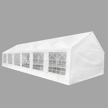 20' x 40' Outdoor Gazebo Canopy, Wedding Party Camp Tent, 14 Removable Walls,