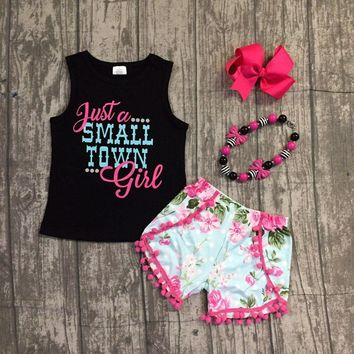 Just A Small Town Girl Baby Kid Child Toddler Newborn Outfit