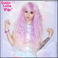 Gothic Lolita Wigs® Rhapsody™ Collection - Lavender to Pink Fade