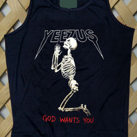 Yeezus God Wants You Kanye Tank top