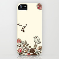 Nature Love iPhone & iPod Case by Pink Berry Pattern