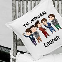 Personalised The Janoskians Cushion Janoskians Gift Items Can Be Personalised