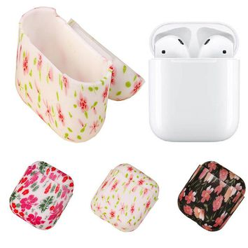 Malloom Soft Silicone Shock Proof Protective Cover Case For Apple AirPods Earphones