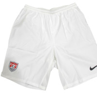 Nike Men's Team USA White Soccer Short