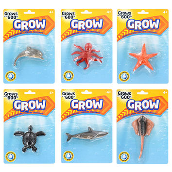 Bulk Magic Growing Sea Creatures at DollarTree.com