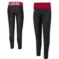 Alabama Crimson Tide Ladies Pivot II Leggings - Black