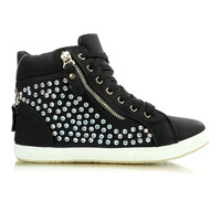 Wedge heel sneakers model 26694 Heppin