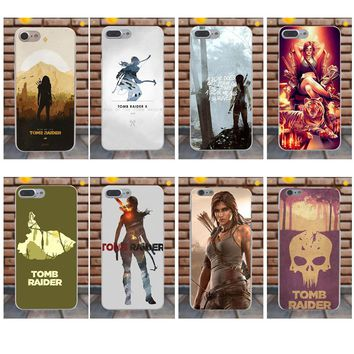 Suef For Sony Xperia Z Z1 Z2 Z3 Z4 Z5 compact Mini M2 M4 M5 T3 E3 XA Soft Phone Cases Cover Tomb Raider