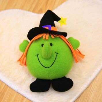 Toy Doll Innovative Witch Pumpkin Doll Small Hangings Pendants Stuffed Soft Doll