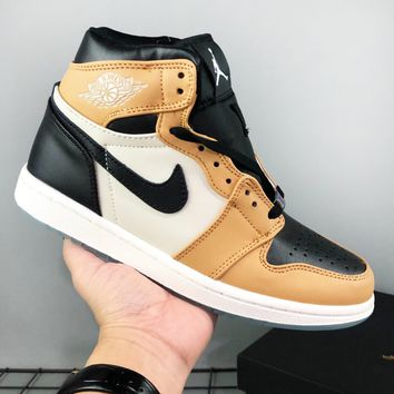 Nike Air Jordan is a hot seller of stylish men's color-coded sneakers