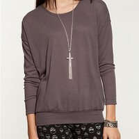 Drop Shoulder Sweater