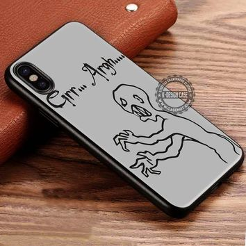 Grr Argh Mutant Enemy iPhone X 8 7 Plus 6s Cases Samsung Galaxy S8 Plus S7 edge NOTE 8 Covers #iphoneX #SamsungS8